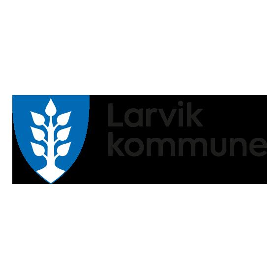 larvik kommune logo